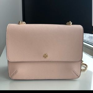 Tory Burch Convertible shoulder bag apricot pink